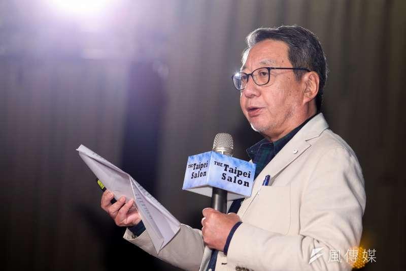 前聯合國世界糧食計畫署亞洲區主任忍足謙朗 (陳明仁攝)