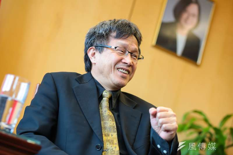 駐德代表謝志偉(見圖)接受德媒採訪時表示,台灣防疫成功的關鍵是「別相信中國政權的相關說法及數據」。(資料照,顏麟宇攝)