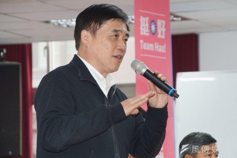 中國國民黨副主席郝龍斌表示,只要民主進步黨敢開放日本核災地區食品進口,人民的公投連署書也會立即送出。(資料照,盧逸峰攝)