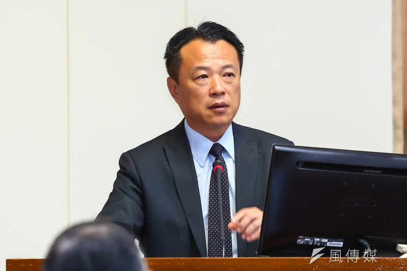 農委會副主委翁章梁27日出席立院經濟委員會備詢。(顏麟宇攝)