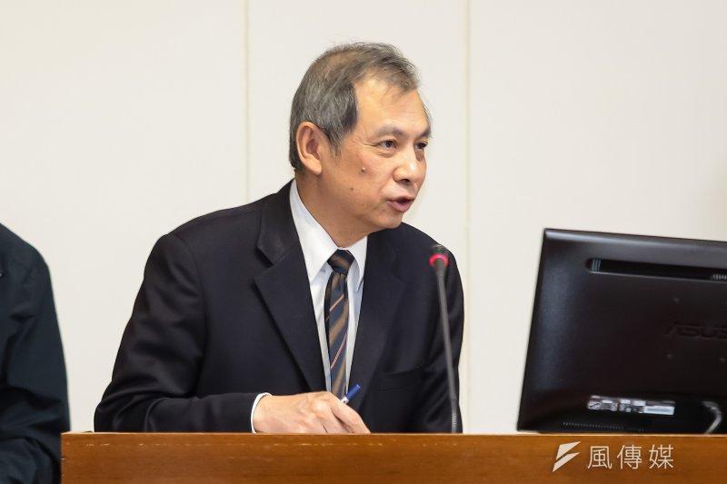 經濟部礦務局長朱明昭已於日前申請退休,經濟部已有接替人選。(資料照片,顏麟宇攝)