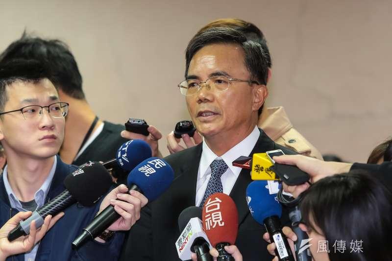 法務部政務次長蔡碧仲列席立院委員會。(資料照片,顏麟宇攝)