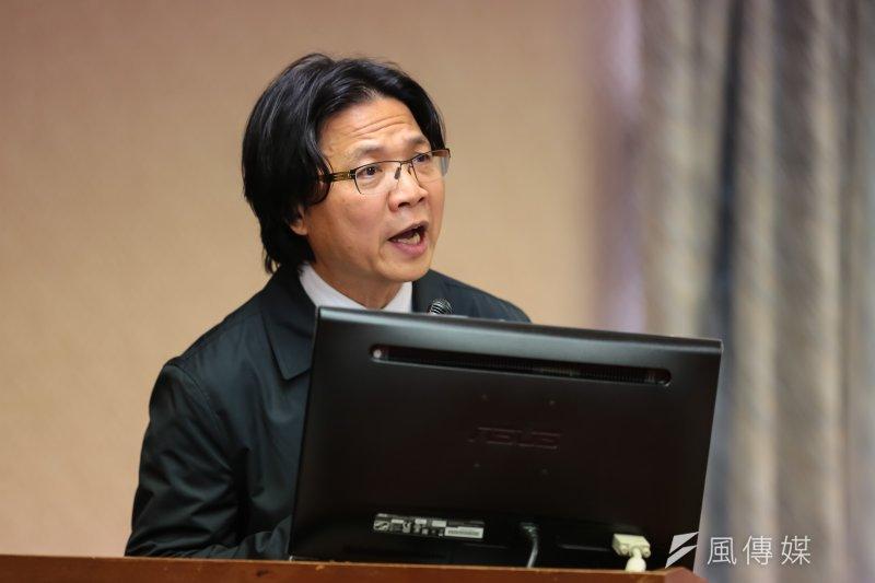 內政部長葉俊榮27日於立院內政委員會備詢。(顏麟宇攝)