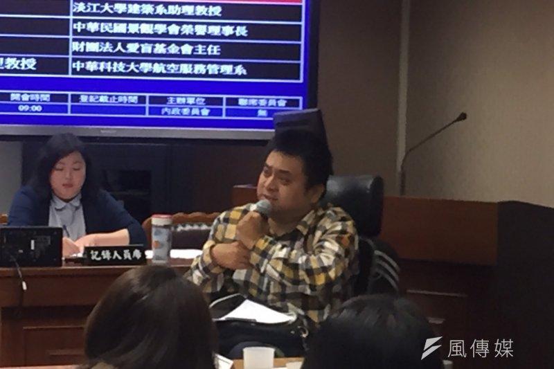 20170330-脊髓損傷聯合會劉逸雲(李泰誼攝)