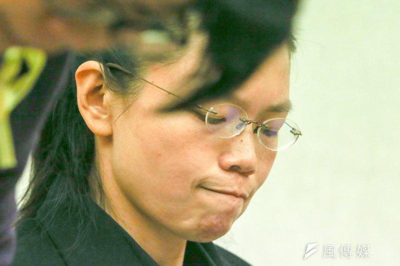 有學者形容,在救援丈夫李明哲過程中,李凈瑜的表現像個非典型家屬,之所以非典型,正凸顯出台灣面對中國時的困境。(資料照片,陳明仁攝)