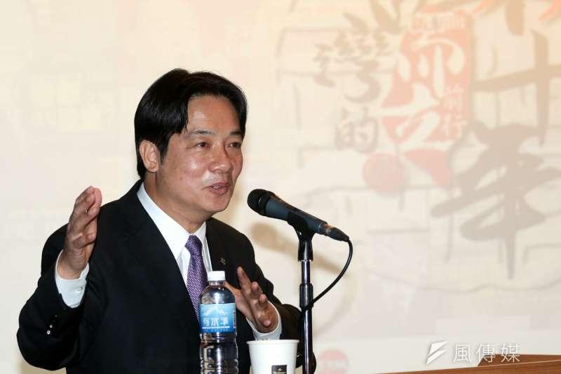 台南市長賴清德即將組閣,南鐵東移則是他留下的「爭議」。(資料照/蘇仲泓攝)