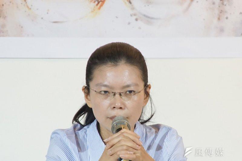 作者認為,李凈瑜比任何男性都更要堅強百倍,台灣人的「不服從」先天特質在她身上充分發光了,台灣人和全球華人都應該自覺欠她一聲道謝!(盧逸峰攝)