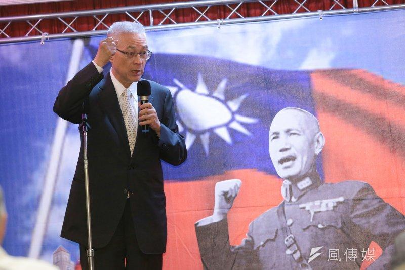 中華民國是台灣的資產,也是國民黨重生的契機。(資料照/顏麟宇攝)