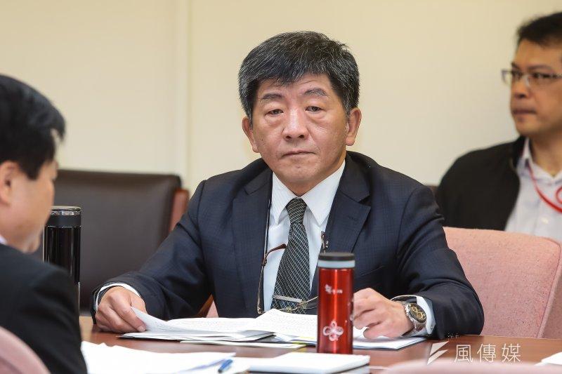 衛福部長陳時中6日受訪時表示,若由替代役投入長照,可行性跟需要性會相對郵差高。(顏麟宇攝)