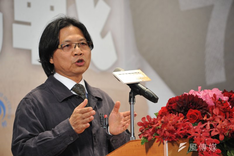今日為言論自由日,內政部7日舉行「台灣言論自由之發展與挑戰」座談會。內政部長葉俊榮表示,人民不用再擔心講了一句什麼樣的話,就會被人家關起來。(甘岱民攝)
