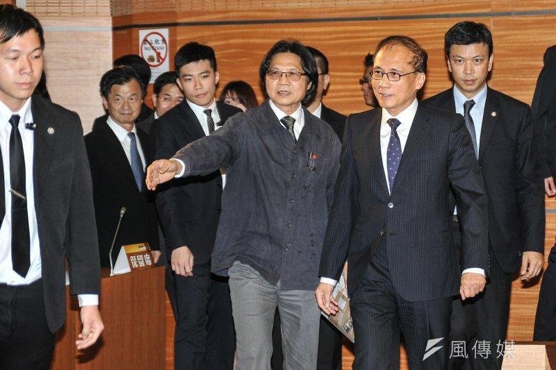 20170407-葉俊榮與林全出席「台灣言論自由之發展與挑戰座談會」(甘岱民攝)