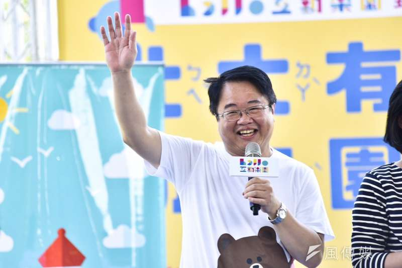 對於國民黨立委周錫瑋也有意參選新北市長,民進黨立委吳秉叡8日表示,不用擔心。(蘇巧慧辦公室提供)