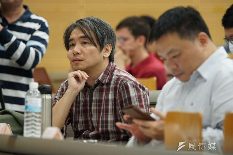 20170408-同志婚姻大辯論,廖元豪出席。(盧逸峰攝)