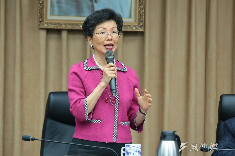 台灣未獲邀參與WHA,陸委會表示,WHO並非政治性組織,不該屈從中國大陸單方的政治意志,對WHO以政治因素排除台灣,陸委會深表遺憾。圖為陸委會主委張小月。(資料照,顏麟宇攝)