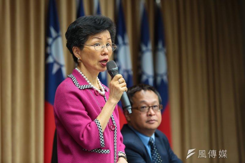 台灣遲未收到WHA邀請函,陸委會8日表示,對岸應尊重及理性看待台灣參與的權利,不要誤判兩岸情勢。圖為陸委會主委張小月。(資料照,顏麟宇攝)