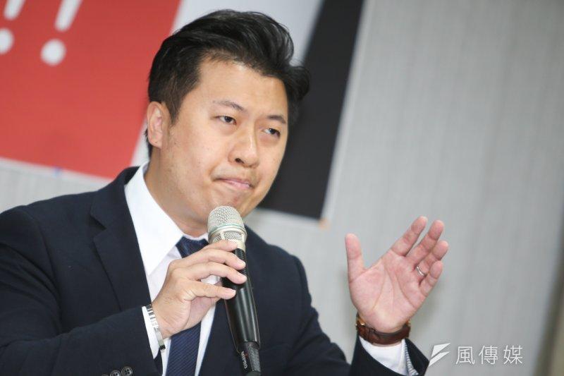 民進黨發言人張志豪。(資料照片,陳明仁攝)