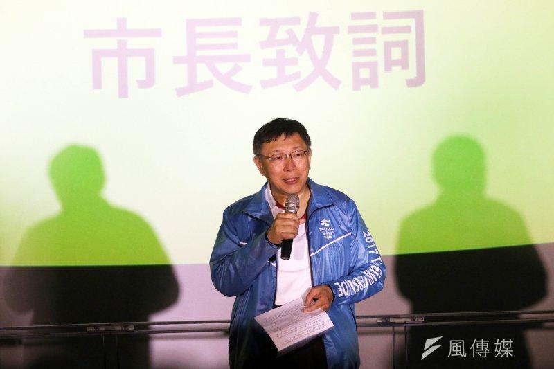 上海市台辦主任李文輝14日拜會台北市長柯文哲,行程相當神秘。對此,柯文哲表示,對方希望低調,那麼就按照對方的期望進行。(資料照,蘇仲泓攝)