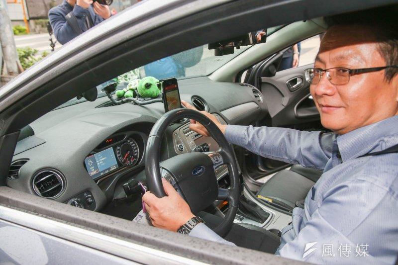 Uber今年4月重返台灣,並於上周以荷蘭商「Uber B.V.」 公司名義完成跨境電商稅籍登記,但國稅局官員表示,當時積欠營業稅的是Uber在台子公司「台灣宇博」,屬於已落地電商,因此要追也是要向台灣宇博追稅,而非「Uber B.V.」 。圖為4月Uber重返台灣記者會。(資料照,陳明仁攝)