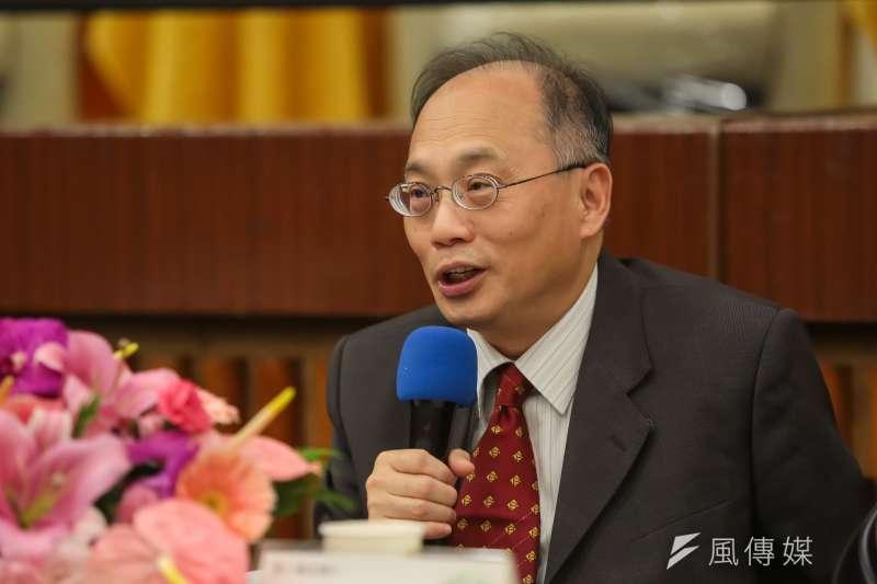 將接任故宮院長的吳密察是台灣史學者出身,身兼中正紀念堂轉型推動諮詢小組委員。(資料照,顏麟宇攝)