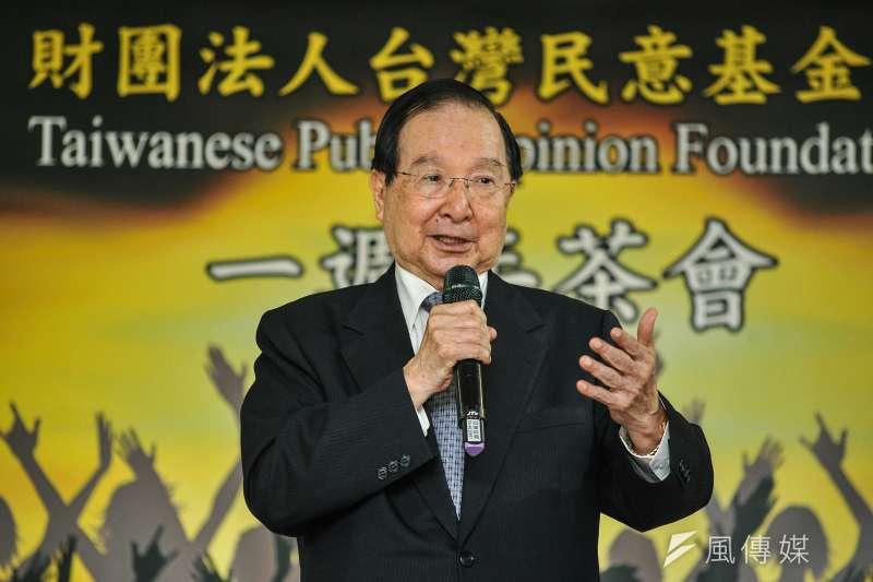 總統府前資政吳澧培表示,他非常高興,個人也會支持前行政院長賴清德領表參選。(資料照,甘岱民攝)