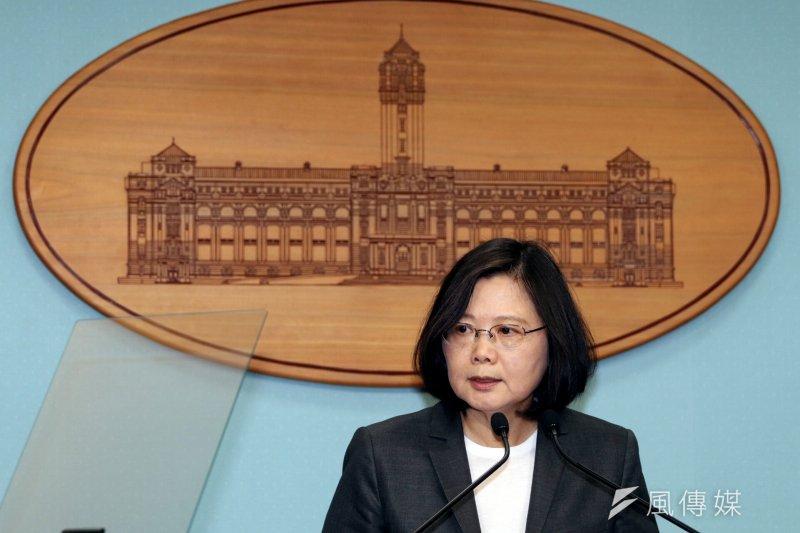 台灣今年尚未收到WHA邀請函,今日是網路報名最後一天,在這個關鍵時期,總統蔡英文第10度發文,轉貼駐日代表謝長廷在日本《朝日新聞》的投書。(資料照,蘇仲泓攝)