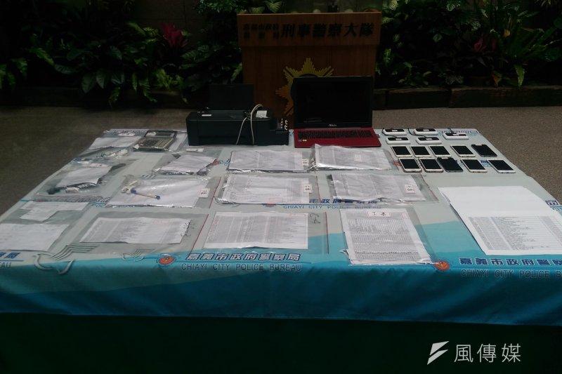 調查局與泰國司法單位合作,查獲位於台中的詐騙電信機房。調查局表示,本案是台、泰詐騙集團跨境電信詐欺的首例。(示意照,嘉義市警察局提供)