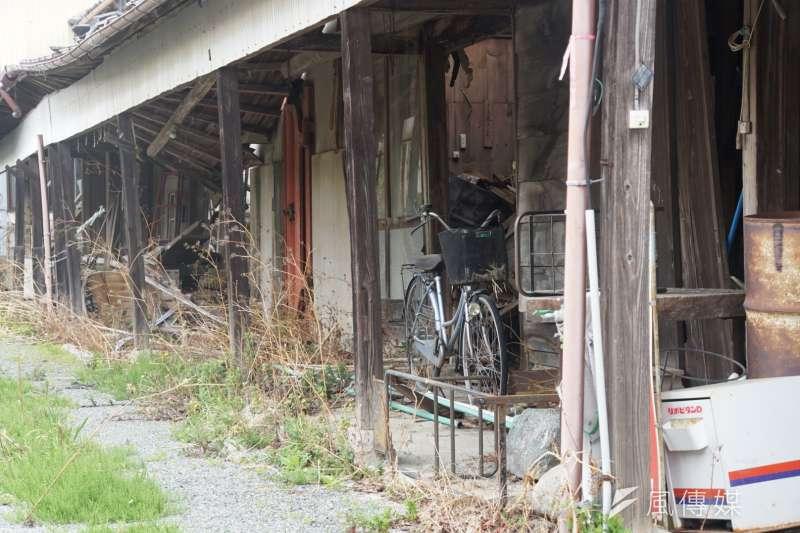 20170421-日本311東北大地震、福島核災受災區,浪江町一景。(盧逸峰攝)