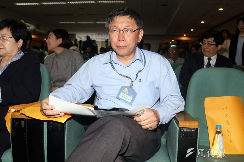 柯文哲表示,爭取穆斯林來台觀光應該是臺灣成為一個觀光大國的必要條件。(資料照,蘇仲泓攝)
