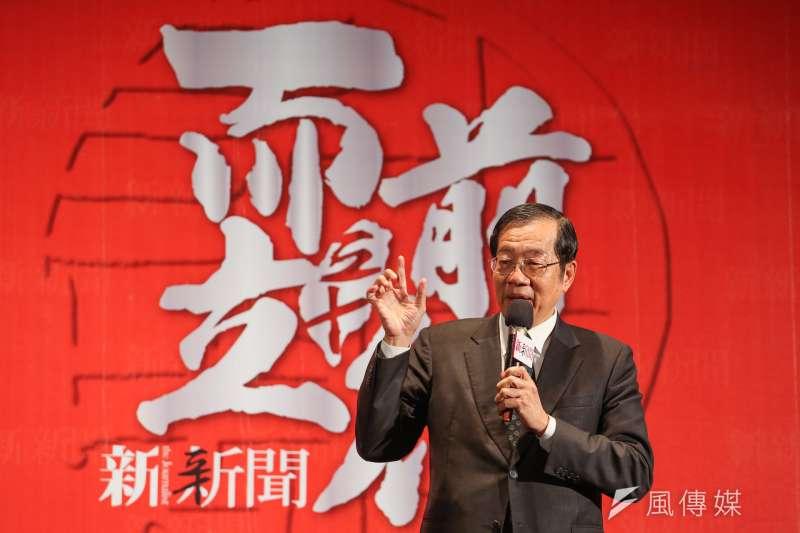 前教育部長黃榮村被蔡英文總統提名為考試院長。(資料照,陳明仁攝)