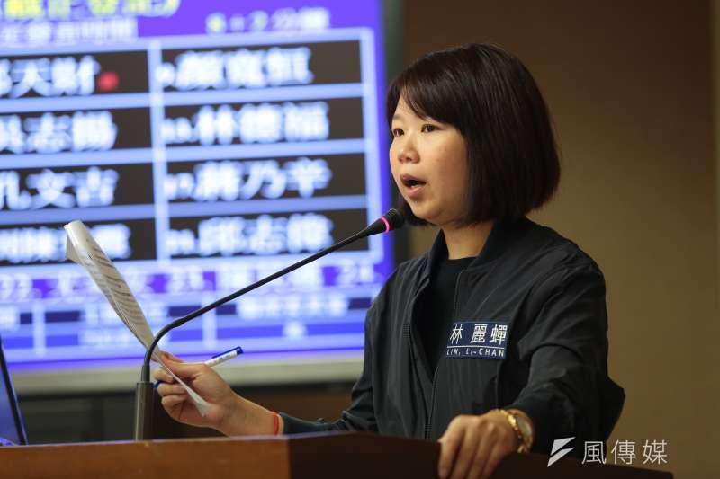 20170424-國民黨立委林麗蟬24日於內政委員會質詢。(顏麟宇攝)