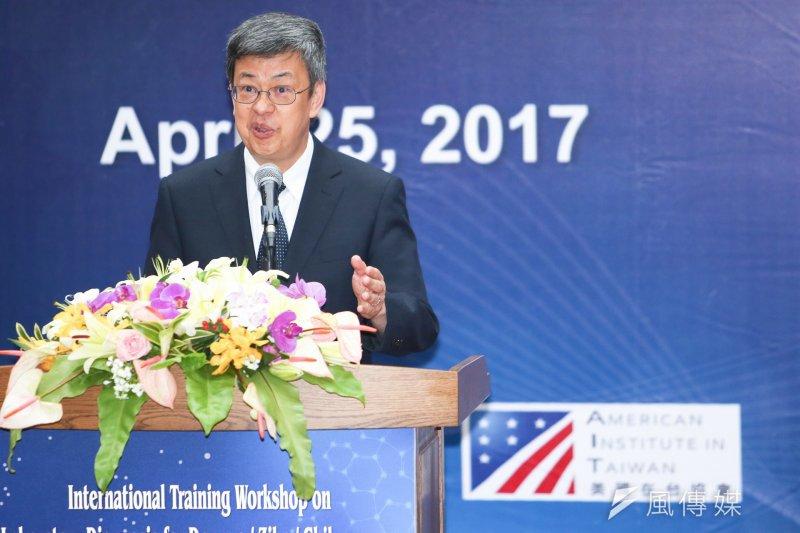 副總統陳建仁接受美國時代雜誌專訪,針對台灣未受WHA邀請,他表達強烈不滿。(資料照,陳明仁攝)