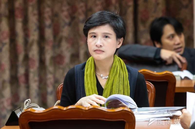 20170427-文化部長鄭麗君27日出席立院委員會備詢。(顏麟宇攝)