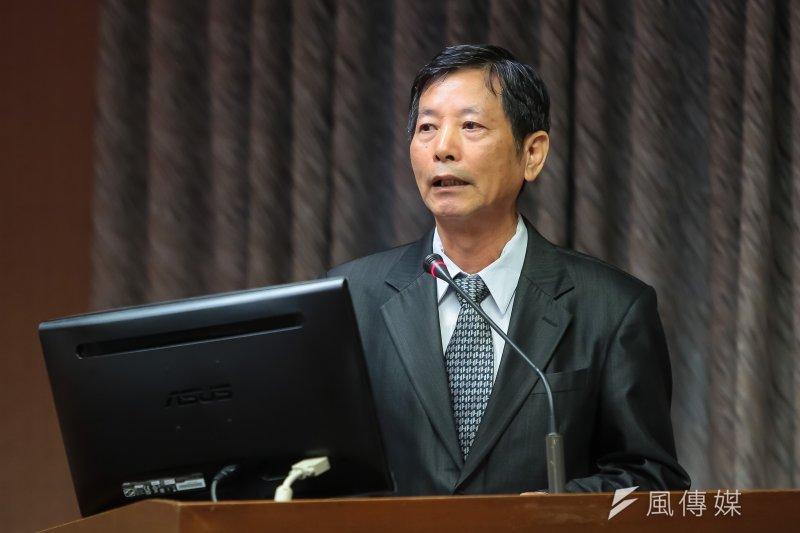 20170427-公共工程委員會副主委顏久榮27日出席立院委員會備詢。(顏麟宇攝)