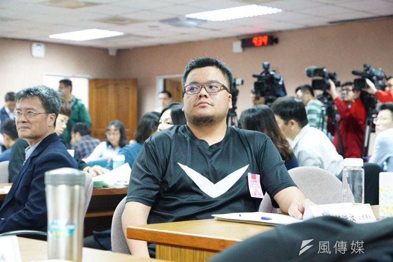20170427-公立學校教職員退休撫卹條例草案公聽會,楊智強出席。(盧逸峰攝)