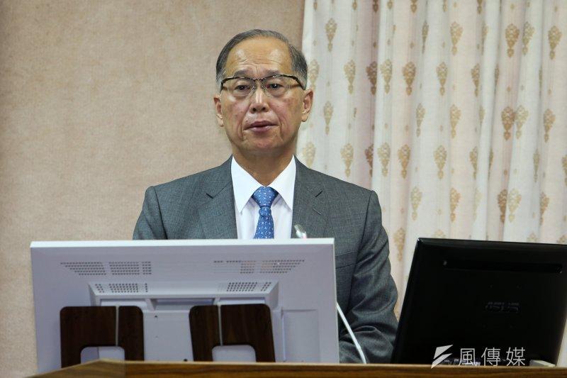 立法院外交及國防委員會,邀外交部長李大維等報告「建構台美關係全新架構之目標、策略及期程」,他表示《路透》向外交部表達歉意。(陳明仁攝)