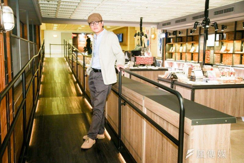 20170504兩廳院國家戲劇院「戲台咖」專訪.來自舞台元素再造.「戲台咖」總經理周奕成(陳明仁攝)