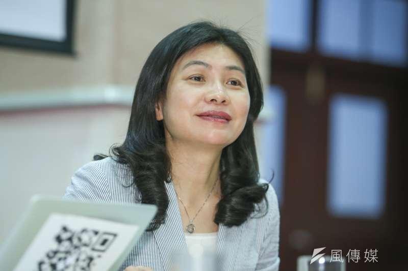 行政院副發言人張秀禎。(陳明仁攝)