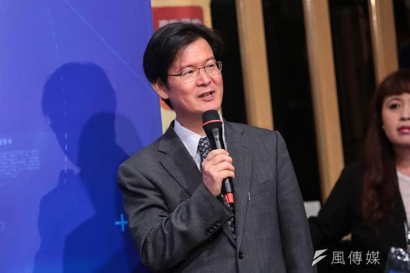 針對國民黨總統參選人韓國瑜民調「觸底回升」,學者江岷欽(見圖)呼籲,韓國瑜要「贏在修正」,盡快找回過去幫助他的人。(資料照,顏麟宇攝)