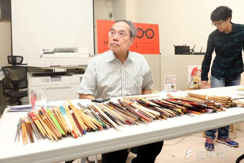 政治大學台灣文學所講座教授陳芳明表示,金庸最大的貢獻是「把歷史說活」。(資料照片,蘇仲泓攝)