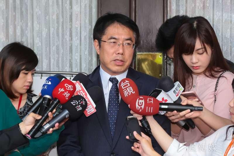 民進黨立委黃偉哲。(資料照片,顏麟宇攝)