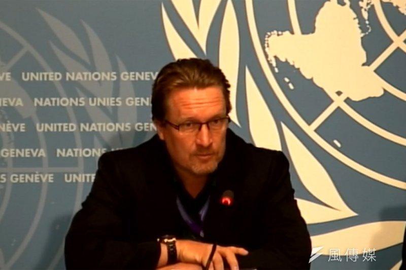 WHO發言人林德梅耶(Christian Lindmeier)9日表示,過去WHO邀請台灣以觀察員身分出席WHA,是根據中國與台灣之間的諒解。(資料照,聯合國提供)