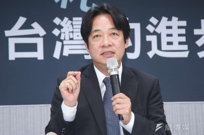 台南市長賴清德日前表示自己不反中國,而是「親中愛台」(資料照.陳明仁攝)