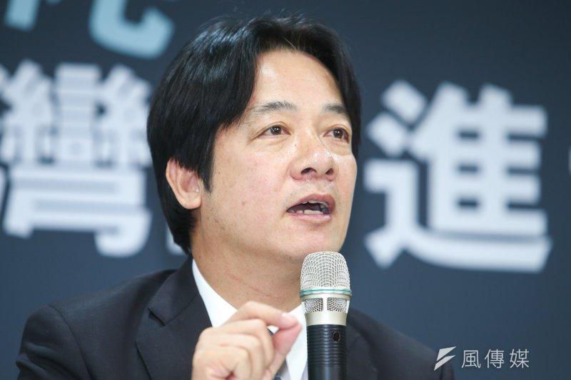 台南市長賴清德說他「親中愛台」。(陳明仁攝)