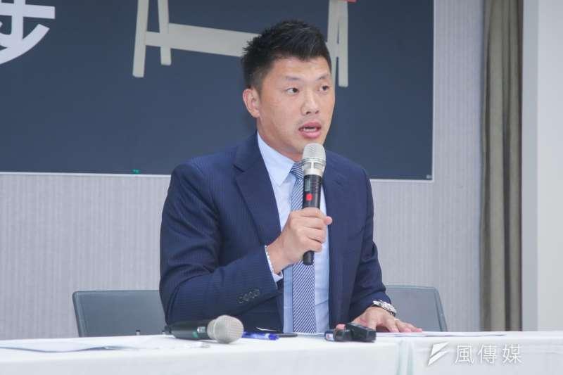 《政黨法》三讀,民進黨發言人王閔生表示,這個立法的完成,將可以鞏固台灣社會的民主發展、強化政黨政治的正常運行,讓台灣可以更進一步邁向一個正常民主國家。(資料照,陳明仁攝)