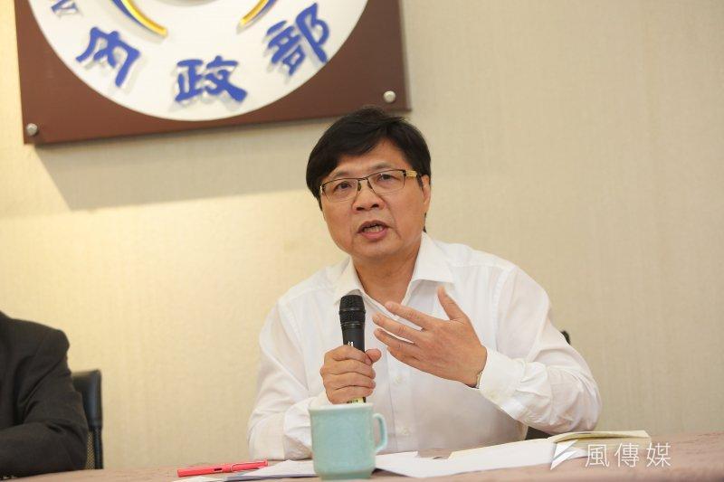 內政部長葉俊榮處理婦聯會引發綠營不滿。(顏麟宇攝)