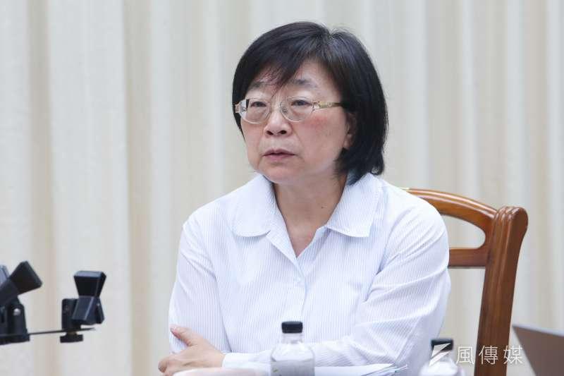 20170511賦稅署署長李慶華出席財政部近一年施政報告記者會.(陳明仁攝)