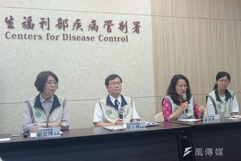 疾管署昨(14)日公布今年首例本土傷寒與百日咳病例。(資料照,黃天如攝)