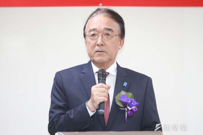 「日本台灣交流協會」代表沼田幹夫(陳明仁攝)
