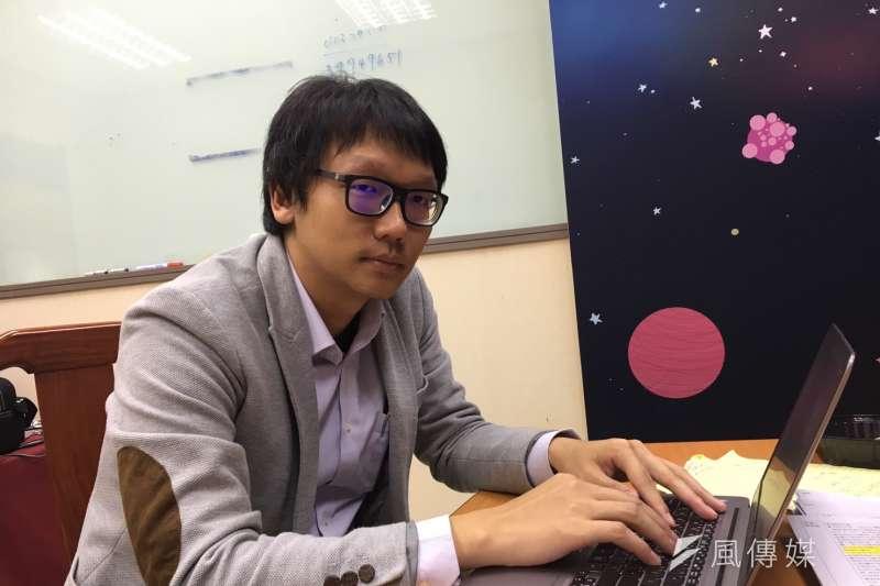 文傳會新媒體主任周柏吟,是洪秀柱臉書小編群的主導者。(羅暐智攝)