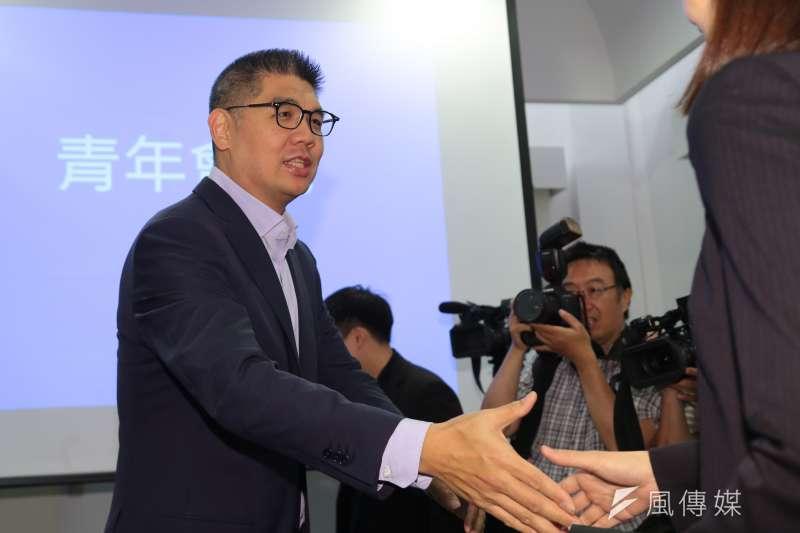 青發會執行長連勝文說國民黨不一樣了,不過,從中常委選舉的「選風」看不出轉變何在。(資料照/顏麟宇攝)